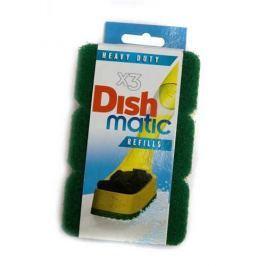EcoForce Dishmatic – náhradní drsnější houbičky (3 ks)