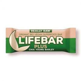 Lifefood Lifebar Plus - s chia semínky a mladým ječmenem RAW/BIO (47 g)