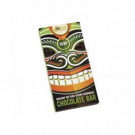 Lifefood Čokoláda s konopným semínkem RAW & BIO (70 g)