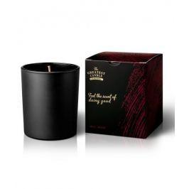 The Greatest Candle Vonná svíčka v černém skle (170 g) - dřevo a koření