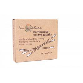 Curanatura Vatové tyčinky do uší (100 ks)