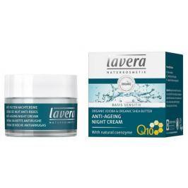 Lavera Basis Sensitiv Noční krém proti vráskám BIO (50 ml)