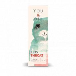 You & Oil KIDS Směs esenciálních olejů pro děti - Bolest v krku (10 ml)