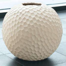 Váza CARVE ASA Selection béžová, 28 cm