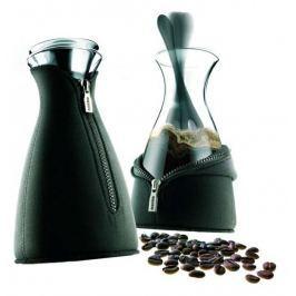 Eva Solo CafeSolo, skleněná nádoba na přípravu kávy 1 l, černý neopren