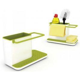 Kuchyňský stojánek na mycí prostředky Joseph Joseph Caddy, bílý/zelený