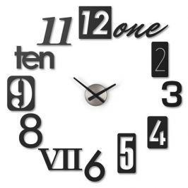 Nástěnné hodiny Umbra Numbra - černé