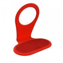 Skládací závěsný držák mobilního telefonu Bobino - červený
