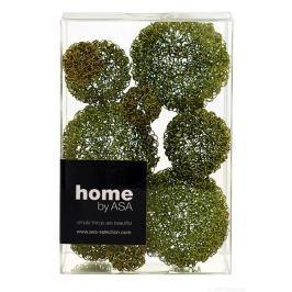 Drátěné dekorační koule 9 ks ASA Selection - zelené