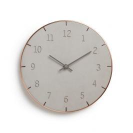 Nástěnné hodiny Umbra PIATTO - šedé/měděné