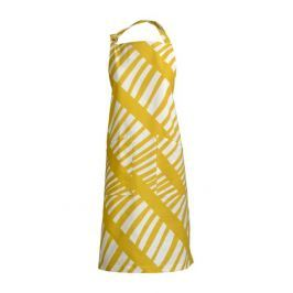 Zástěra s laclem 70x90 cm LINUM Firenze - žlutá