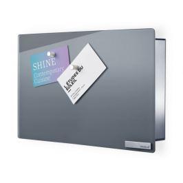 Skříňka na klíče s magnetickými dvířky 20x30 cm Blomus VELIO - šedá