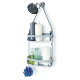 Závěsná polička do sprchového koutu Umbra FLEX - šedá