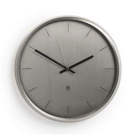 Nástěnné hodiny Umbra META - stříbrné