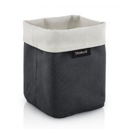 Oboustranný košík na kosmetické potřeby Blomus ARA, malý - šedý/pískový