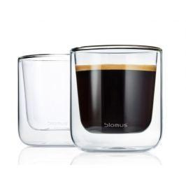 Termosklenička na kávu Blomus NERO, 2 ks