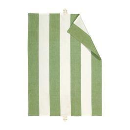 Utěrka 50x70 cm LINUM Ravioli - hráškově zelená/bílá