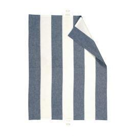 Utěrka 50x70 cm LINUM Ravioli - modrá/bílá