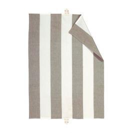 Utěrka 50x70 cm LINUM Ravioli - pepřová/bílá