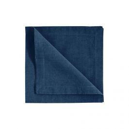 Ubrousky 45x45 cm LINUM Robert, 4 ks - tmavě modré