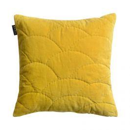 Povlak na polštář 50x50 cm LINUM Sienna - žlutý