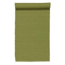 Středový pás 45x150 cm LINUM Gran - hráškově zelený