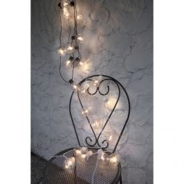 Světelný LED řetěz se žárovky STAR TRADING Party - bílý/bílý