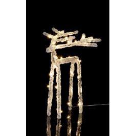 Svítící jelen STAR TRADING Ice Deer - malý