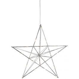 Svítící hvězda na zavěšení STAR TRADING Copper