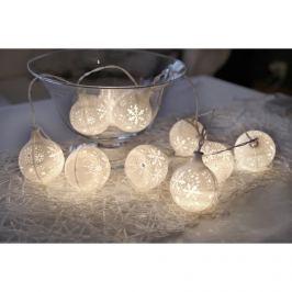 Světelný řetěz s LED osvětlením STAR TRADING Snowflake - sněhové vločky