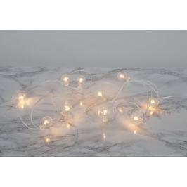Světelný řetěz STAR TRADING Globe - bílý