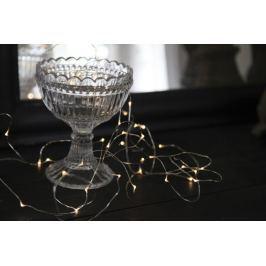Světelný řetěz s LED osvětlením STAR TRADING Dew Drop - stříbrný