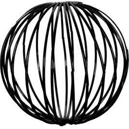 Dekorační drátěné koule 3 ks ASA Selection - černé