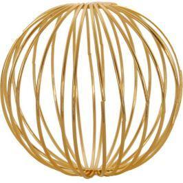 Dekorační drátěné koule 3 ks ASA Selection - zlaté