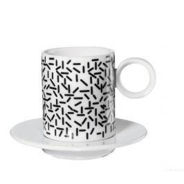 Hrníček na espresso 2 ks MEMPHIS ASA Selection - čárky