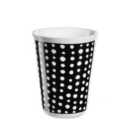 Hrnek na cappuccino COPPETTA ASA Selection - bílé skvrny