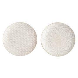 Dezertní talíř 20,3 cm 2 ks LINNA ASA Selection - pikee, comb