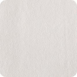 Kožená podložka pod šálek 4ks ASA Selection - bílá