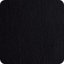 Kožená podložka pod šálek 4ks ASA Selection - černá