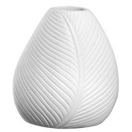 Váza 12 cm LEAFS ASA Selection - bílá