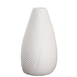 Váza 18 cm LEAFS ASA Selection - bílá
