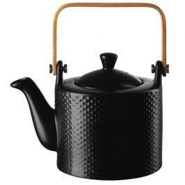 'Konvička na čaj 0,75 l BLACKTEA ASA Selection - pikee černá