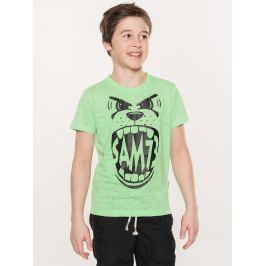 Tričko SAM 73 BT515 Zelená
