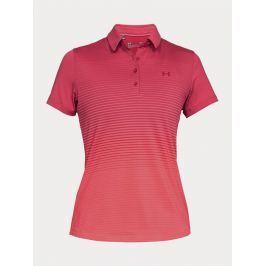 Tričko Under Armour Zinger Short Sleeve Novelty Polo Růžová