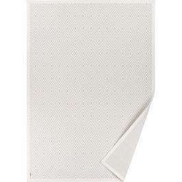 Bílý vzorovaný oboustranný koberec Narma Kalana, 160 x 230cm
