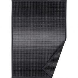 Antracitově šedý vzorovaný oboustranný koberec Narma Moka, 160 x 230cm