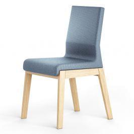 Modrá židle z dubového dřeva Absynth Kyla
