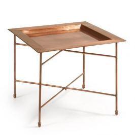 Odkládací stolek v měděné barvě La Forma Bruce