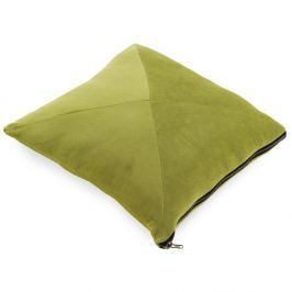 Limetkově zelený polštář Geese Soft, 45x45cm