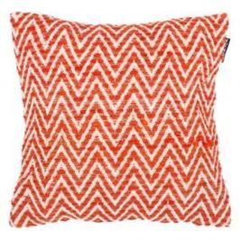 Oranžový vzorovaný povlak na polštář Tiseco Home Studio Ziggy, 45x45cm